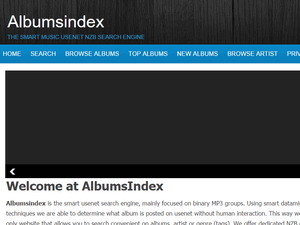 AlbumsIndex Review