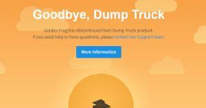 Dump Truck Discontinued