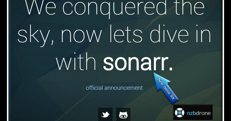 Sonarr Screenshot