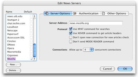 Mt Newswatcher Multiple Servers