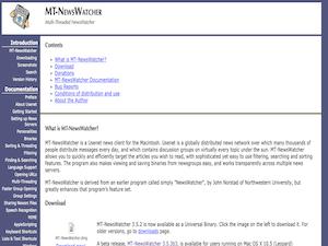 MT-NewsWatcher X Review
