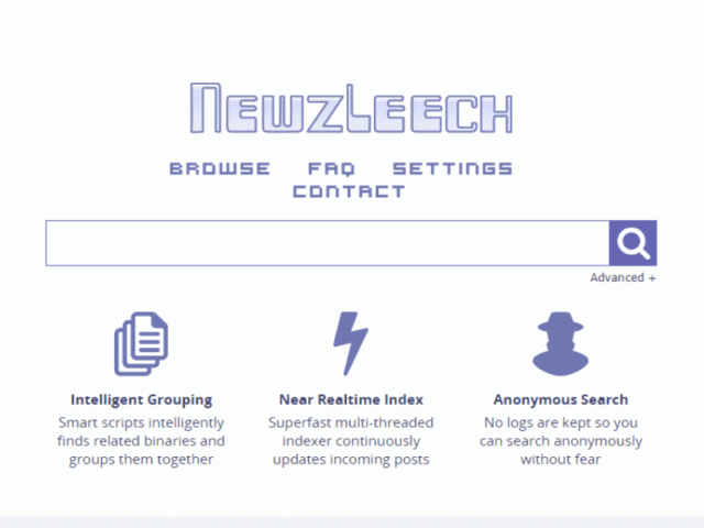 Newzleech Rapid and Quick Search Engine