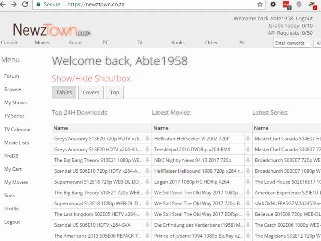 Newztown Nzb Sites