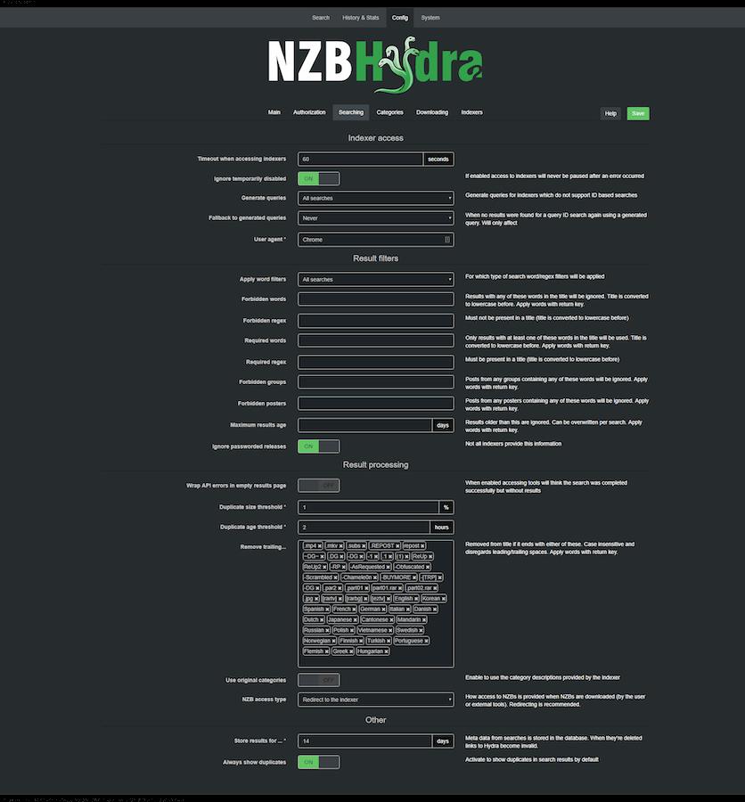 Nzb Hydra 2 Config