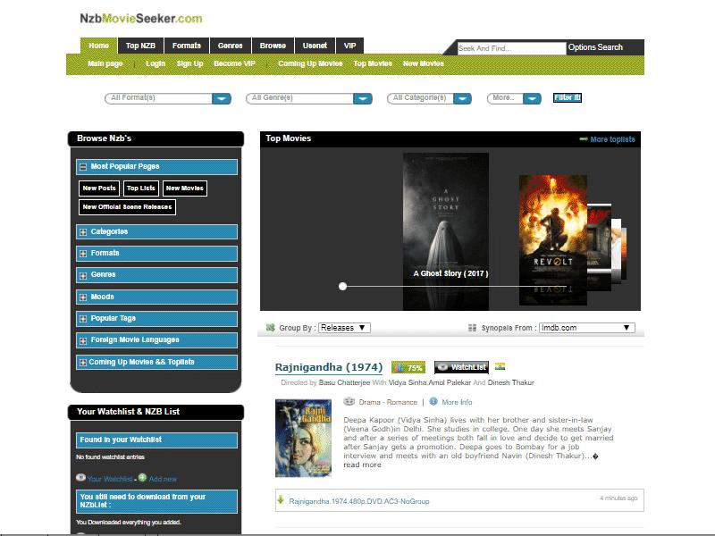 NZBMovieSeeker.com Review