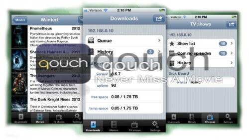 Qouch Screenshot