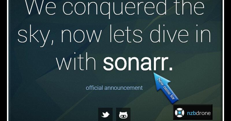 Sonarr Screenshot