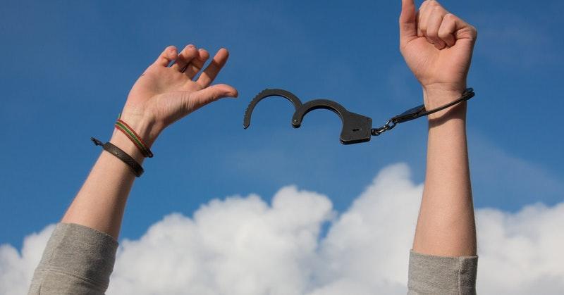 Freedom Handcuffs Hands