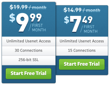 Usenet.net Reduced Pricing